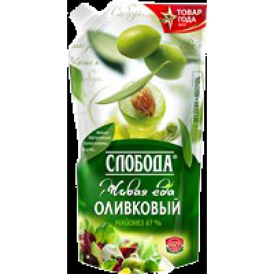"МАЙОНЕЗ ""СЛОБОДА"" ОЛИВКОВЫЙ 67%"