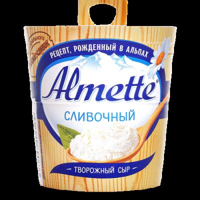 """СЫР ТВОРОЖНЫЙ HOCHLAND """"ALMETTE"""" СЛИВОЧНЫЙ"""