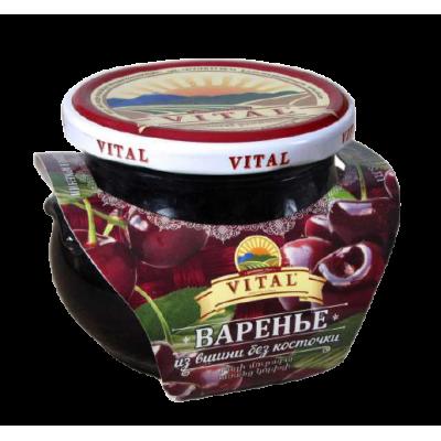 """ВАРЕНЬЕ """"VITAL"""" ВИШНЯ Б/К"""
